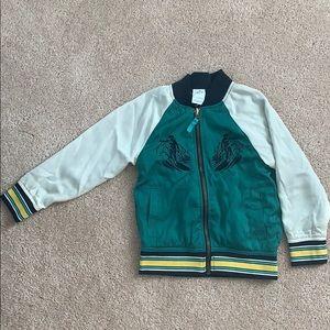 KIDS REVERSIBLE zip up jacket